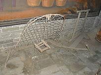 收麦工具掠子-老物件