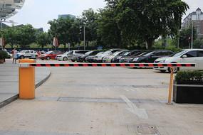 停车场起落杆