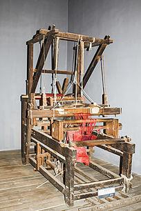 一台织布机