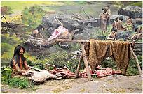 原始社会狩猎图