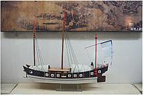 运河上的船展品