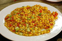 中国菜甜玉米粒