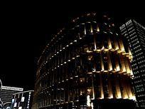 大宁音乐广场五星酒店远眺