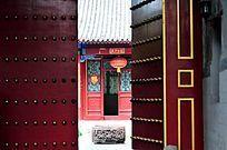 古建筑大门与屋门