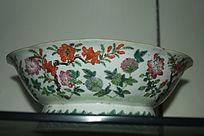 花朵图案瓷碗-花纹陶瓷