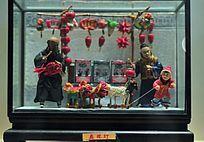 老北京民俗买花灯
