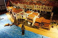 历史名城建筑模型