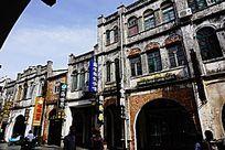 商业老街建筑