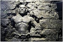 顽强的民族雕塑