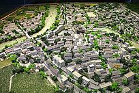 诸暨市城市建筑模型图片