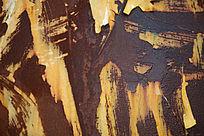 酷炫的生锈铁皮高清背景素材
