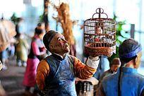 老北京遛鸟人