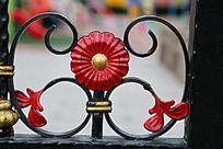 铁艺花卉图案