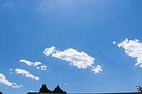 羽毛状云彩