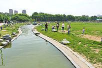城市公园休闲环境