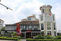 精美的麦当劳建筑
