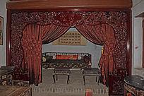 松鹤镂空花纹木雕-木雕艺术