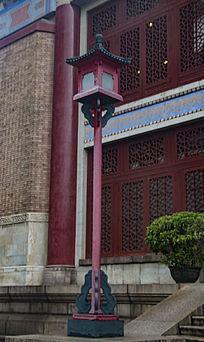 中山纪念堂路灯