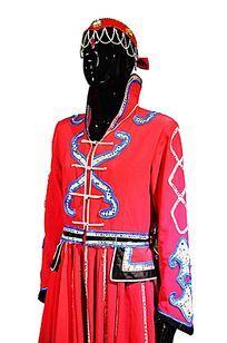 高清蒙古女子服饰