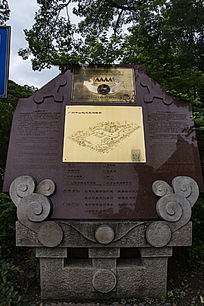 广州中山纪念堂鸟瞰图