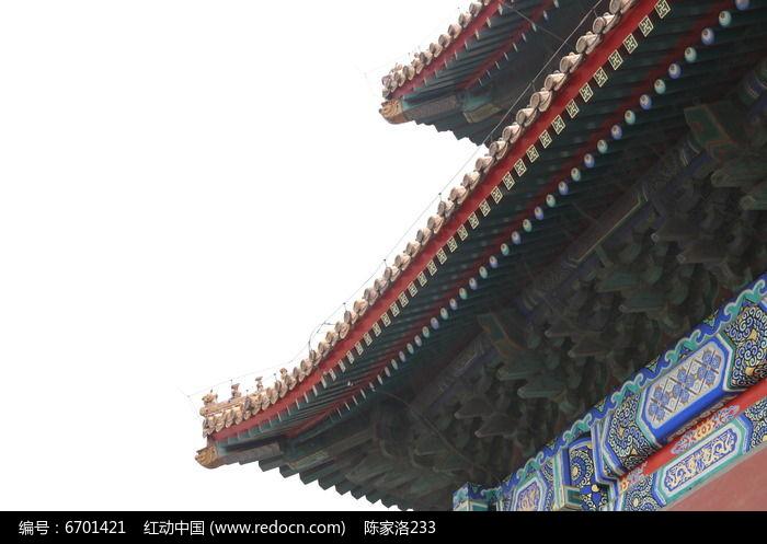 古典建筑屋檐图片