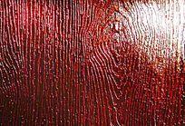 红色木纹皮革