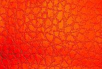 红色压纹皮革