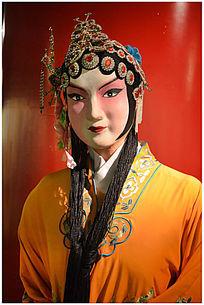 京剧唱腔人物雕塑