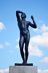 青铜时代雕塑人物雕塑