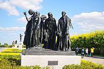 群雕青铜人物雕塑