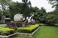 石球雕塑钢铁球