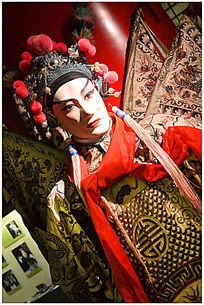 中国京剧人物雕塑