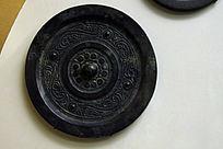 黑圆铁艺图案