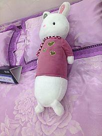 美丽的小兔子娃娃