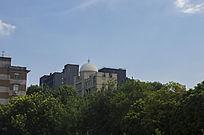 城市中伊斯兰风格建筑