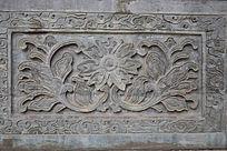 花朵图案雕刻-雕刻艺术