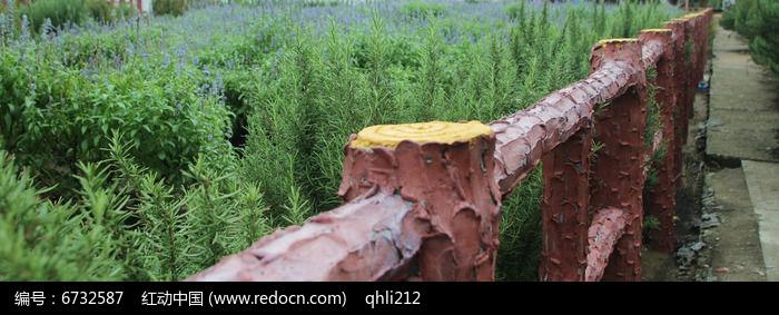 花园木栅栏图片图片,高清大图_田野田园素材