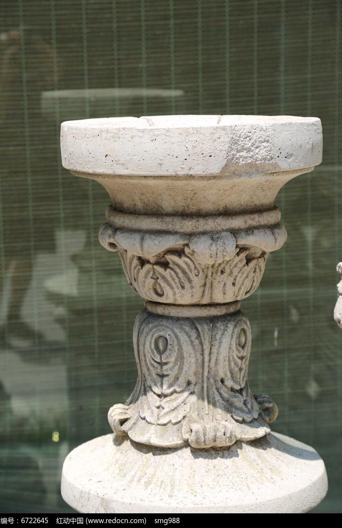 石雕欧式花台图片,高清大图