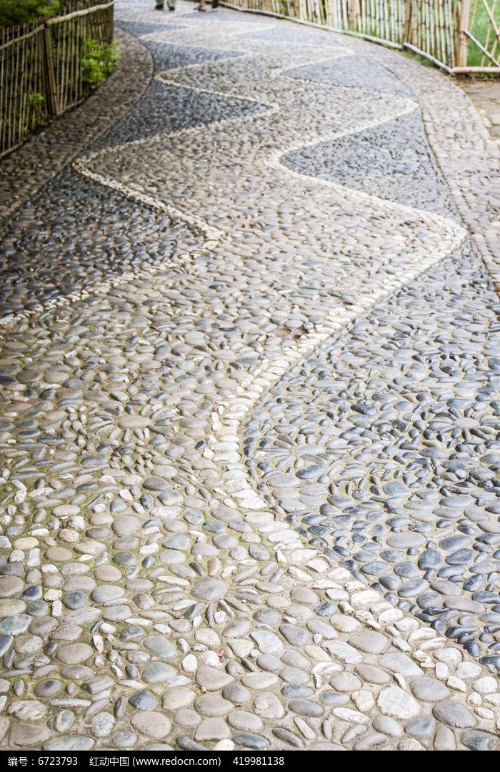 蜿蜒的石子小路图片,高清大图_道路交通素材