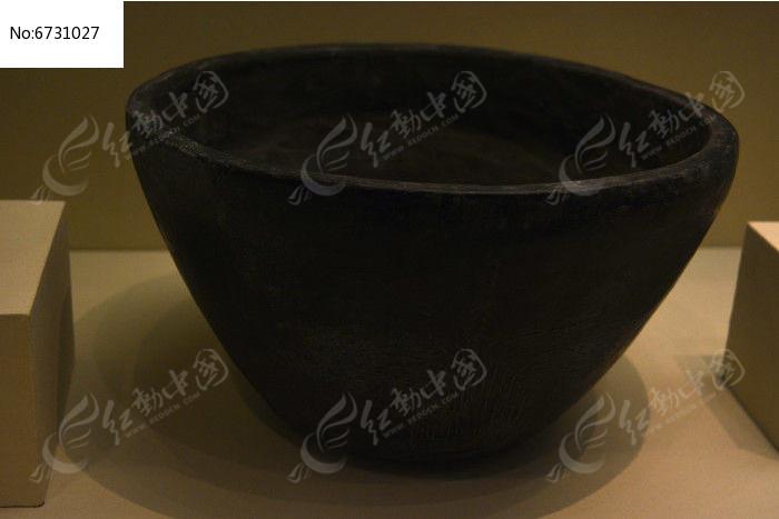 稻纹陶钵图片