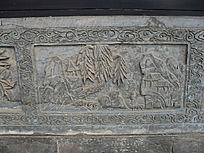 古典风景画石刻-雕刻艺术