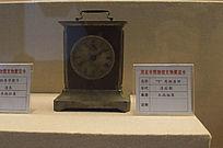 清后期商标座钟