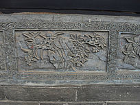 植物图案石雕-雕刻艺术