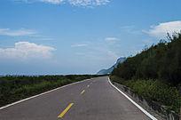 中国第一滩滨海大道