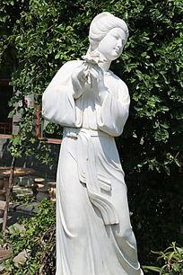 古代四大美女西施雕像