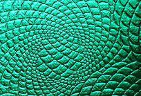 绿色皮革压纹