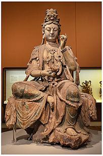 普贤菩萨像