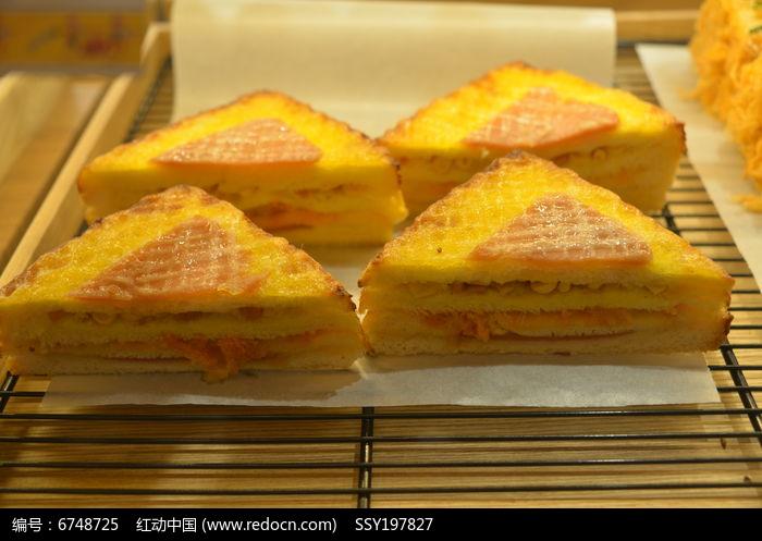 三明治海绵面包图片,高清大图_美食制作素材
