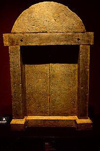 石墓门文物展示图片