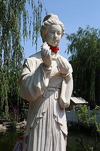 四大美女貂蝉石雕像
